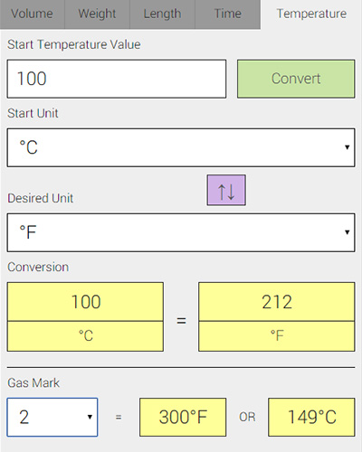 temperature calculator