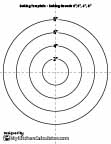 Circle Template, 1 inch x 20