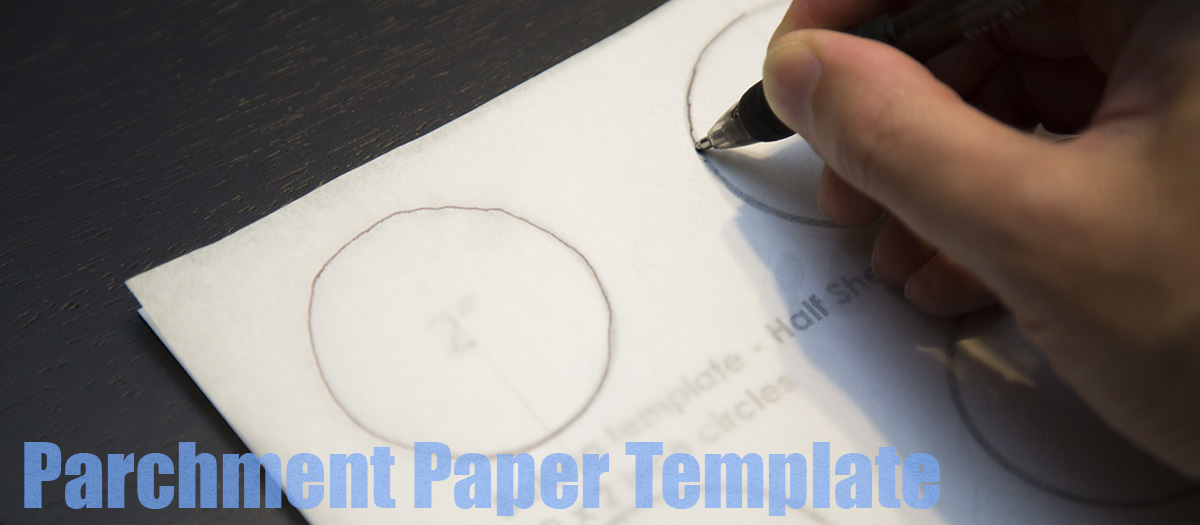 Parchment Paper Template Method