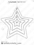 Star Baking Template